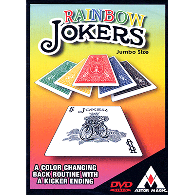 Rainbow Jokers (Jumbo) by Astor - Trick