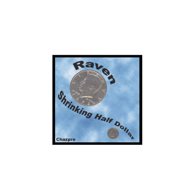 Raven® Shrinking Half Dollar by Chazpro Magic - Trick