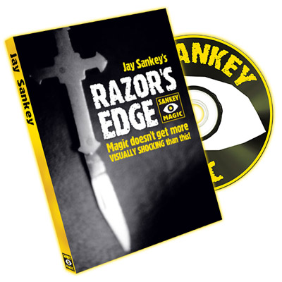 Razor's Edge (With DVD, USA Currency) by Jay Sankey - Trick