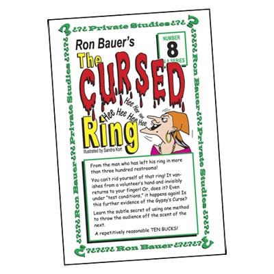 Ron Bauer Series: #8 - The Cursed Ring - Book