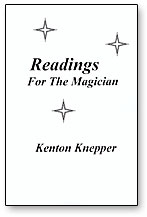 Readings for the Magician book Kne