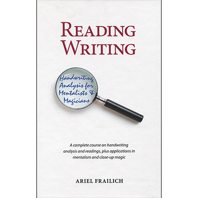 Reading Writing by Ariel Frailich - book