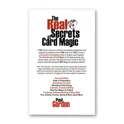 The Real Secrets of Card Magic by Paul Gordon - Book