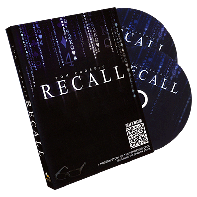 Recall by Tom Crosbie and World Magic Shop - DVD