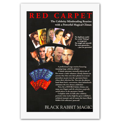Red Carpet by Black Rabbit Magic - Trick