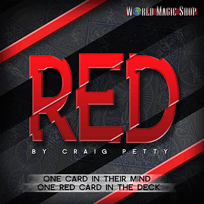 Red (DVD and Gimmick) by Craig Petty and World Magic Shop - DVD