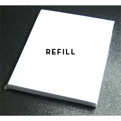 Refill for Clear Clip Board by Guy Bavli - Trick