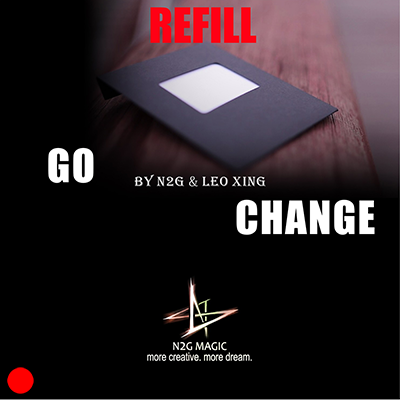 Refill for Go Change (Red) by N2G and Leo Xing - Trick