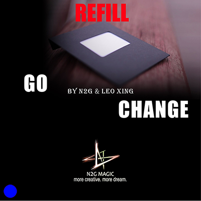 Refill for Go Change (Blue) by N2G and Leo Xing - Trick