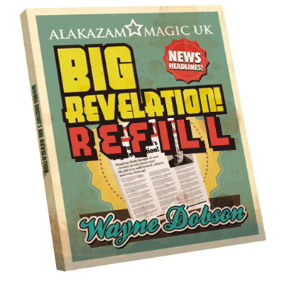 Refill Big Revelation (Pack of 3) by Wayne Dobson - Trick