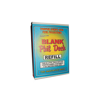 Refill for Blank Phil Deck  by Trevor Duffy s