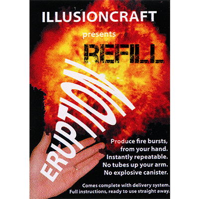 Refill for Eruption Universal Edition  by Illusioncraft - Trick
