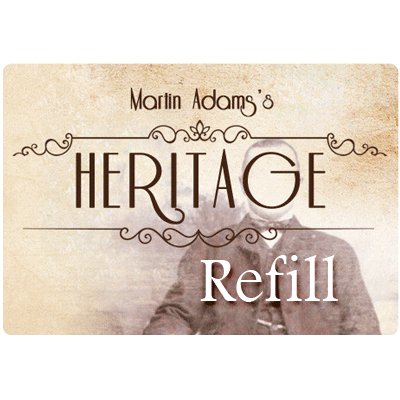 Refill for Heritage (US)by Martin Adams