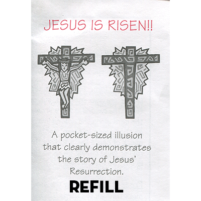 Jesus is Risen refill box - Top Hat Magic