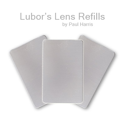 Refill Lubor's Lens (3 lenses, no instructions) by Paul Harris - Trick