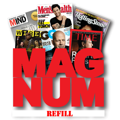 Refill for Magnum (three magazine sheets)