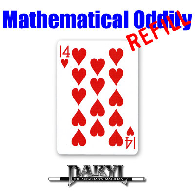 REFILL Mathematical Oddity (14 of HEARTS) by Daryl - Trick