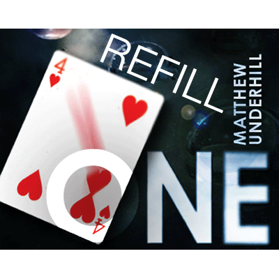 Refill for One (BLUE) by Matthew Underhill and Wizard FX Productions - Tricks