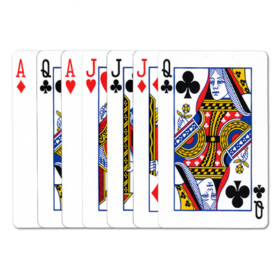 REFILL Overlap Cards (Poker Size) by Joshua Jay - Trick