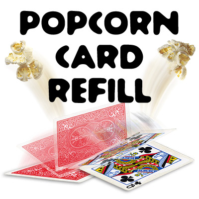 Popcorn Card Gimmick by Alex Kolle