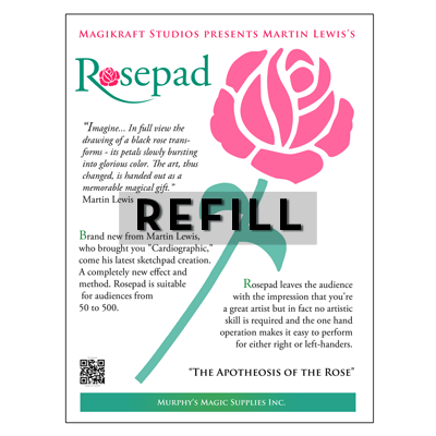 The Rose Pad REFILL - Martin Lewis