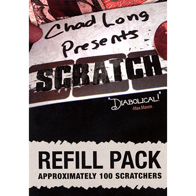 REFILL Scratch (100 Gimmicks) by Chad Long
