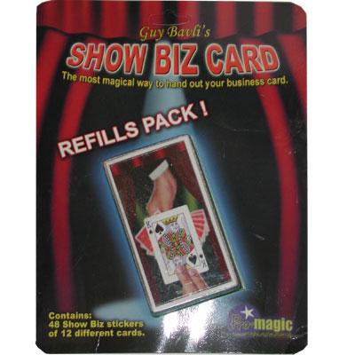 Refill Show Biz Cards Guy Bavli