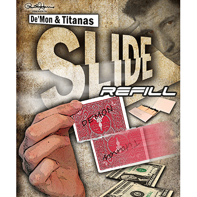 Paul Harris Presents Slide Card Refill (12 Mismade Kings) - Tricks