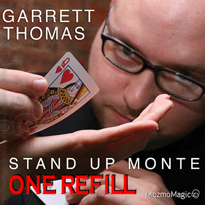 Refill for Stand Up Monte Jumbo Index by Garrett Thomas & Kozmomagic - tTricks