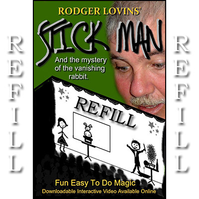 Refill for Stick Man by Rodger Lovins