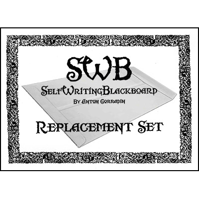 REFILL SWB (Self Writing Blackboard) Replacement Kit by Anton Corradin