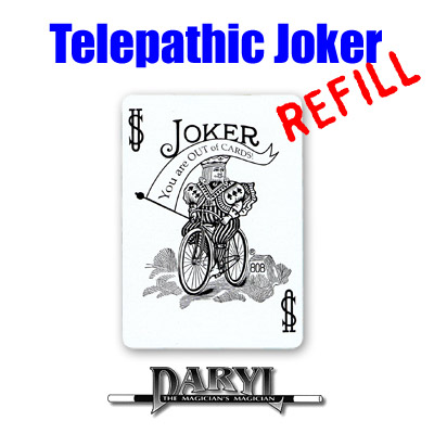 REFILL Telepathic Joker by Daryl - Trick