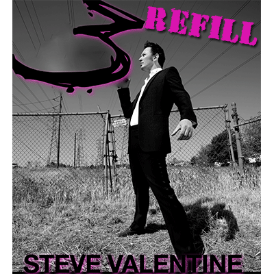 REFILL for 3 Card Routine by Steve Valentine - Trick