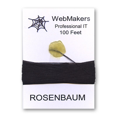 WebMakers Professional IT Refill - 100 Feet (non-stripped Wooly Nylon) - Trick