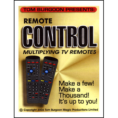 Remote Control Multiplying TV remotes by Tom Burgoon