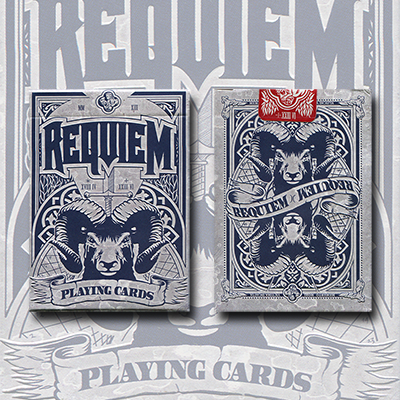 Requiem (Winter) Deck by Lorenzo Gaggiotti of Stockholm - Trick