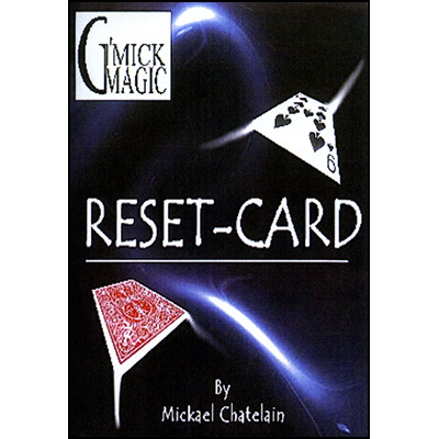 Reset Card (BLUE) by Mickael Chatelain - Trick