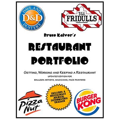 Restaurant Portfolio by Bruce Kalver - Book
