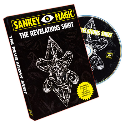Revelations Shirt (MEDIUM, With DVD) by Jay Sankey - Trick