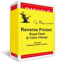Reverse Printed Cards - Caj Magic