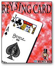 Reysing Card trick Rey Ben
