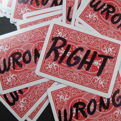 Right and Wrong by Bob Solari - Trick