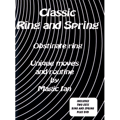 Classic Ring & Spring (DVD & gimmick) - Magic Ian