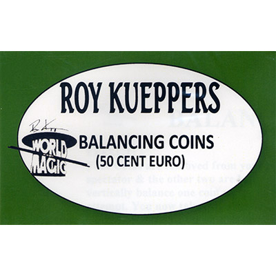 Balancing Euro 50 Cent - Trick