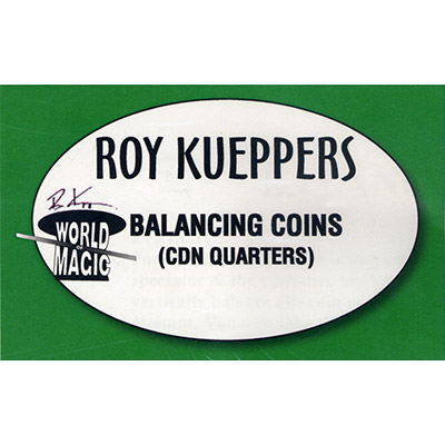 Balancing Canadian Quarters - Trick