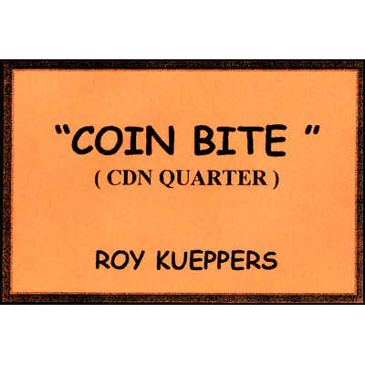Coin Bite (Canadian Quarter) - Trick