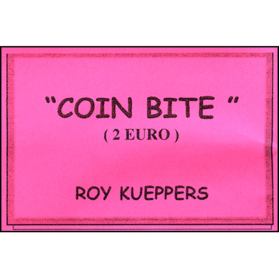 Coin Bite - Moneda Mordida - 2 Euro - Roy Kueppers
