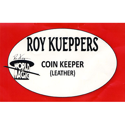 Kueppers Coin Keeper - ( Leather Coin Wallet ) - Trick