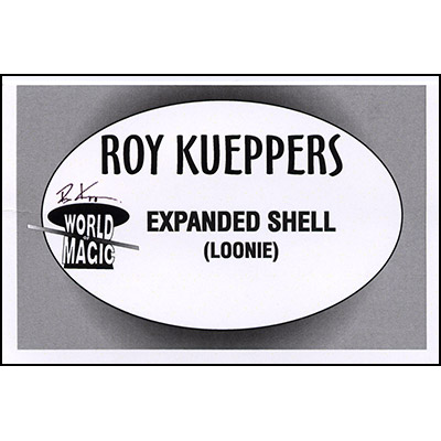 Expanded Shell (Canadian Dollar/Loonie) by Roy Kueppers  - Trick