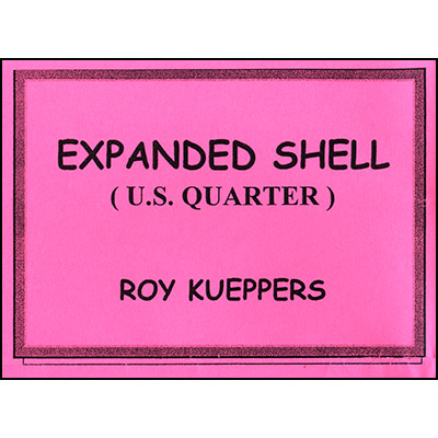 Expanded US Quarter Shell by Roy Kueppers - Trick